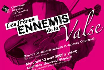 2005 – LES FRERES ENNEMIS DE LA VALSE